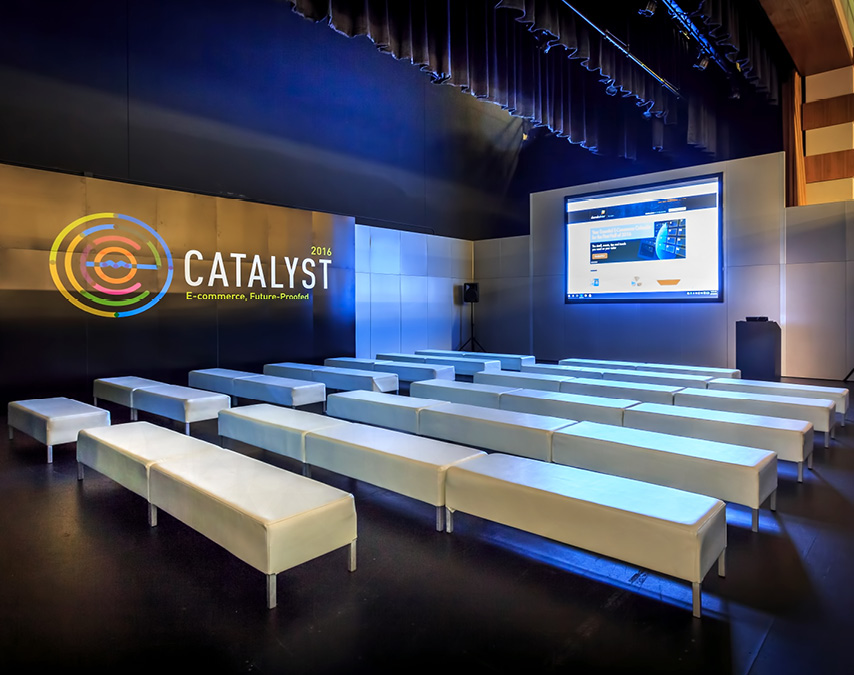 catalyst pavilion multi-functional networking space