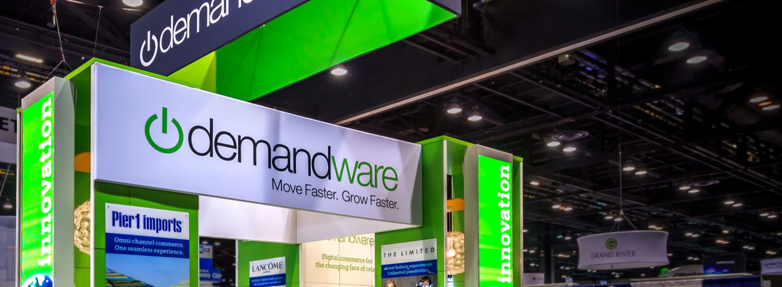 Rental Branded Environment, Demandware at�Shop.Org�Trade Show
