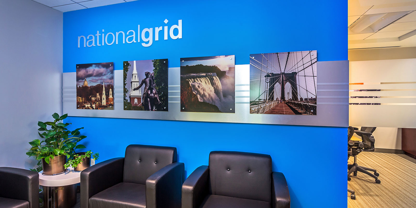 Hill & Partners Commercial Branded Environment for  NationalGrid