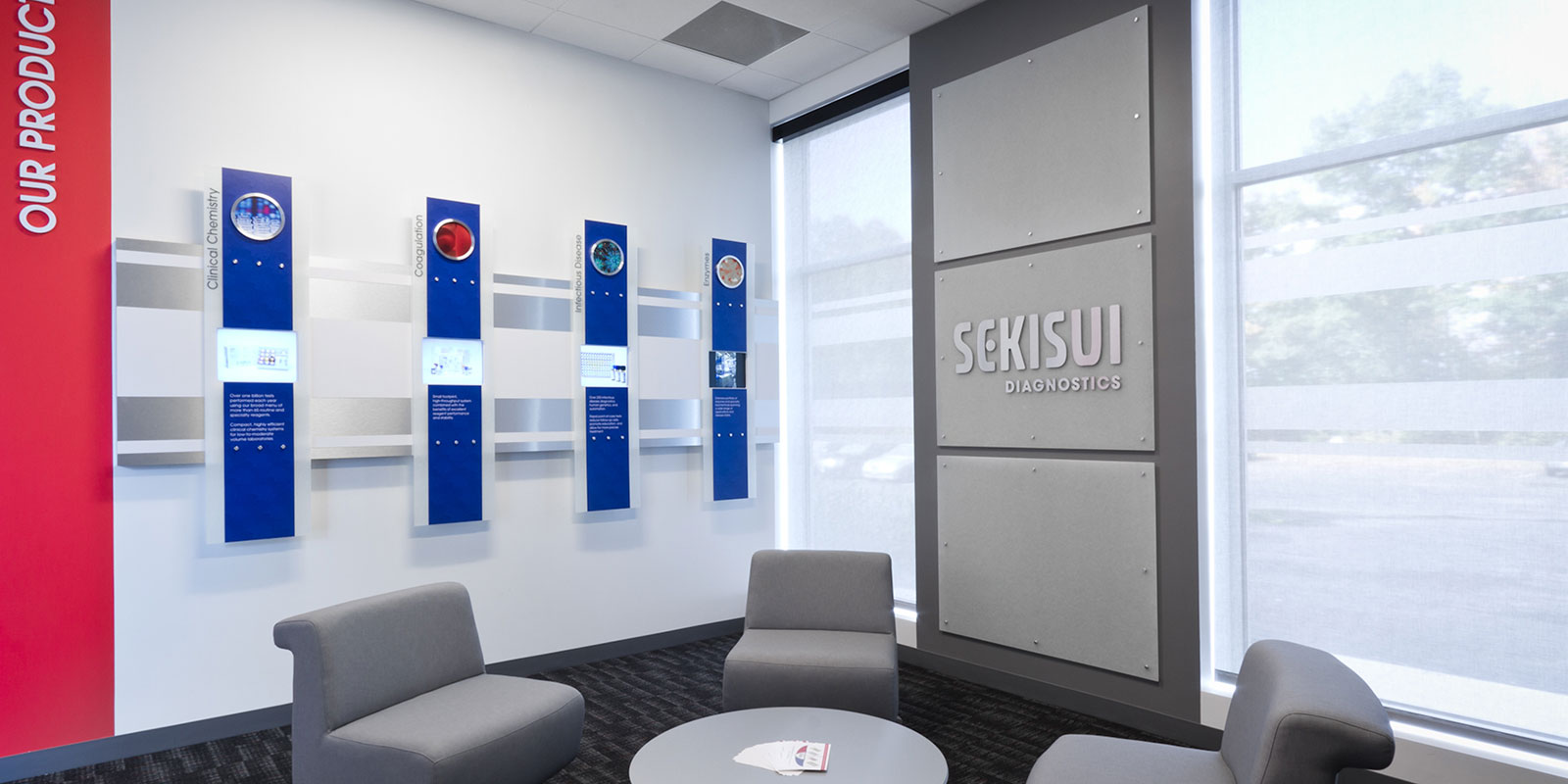 Hill & Partners Commercial Branded Environment for Sekisui