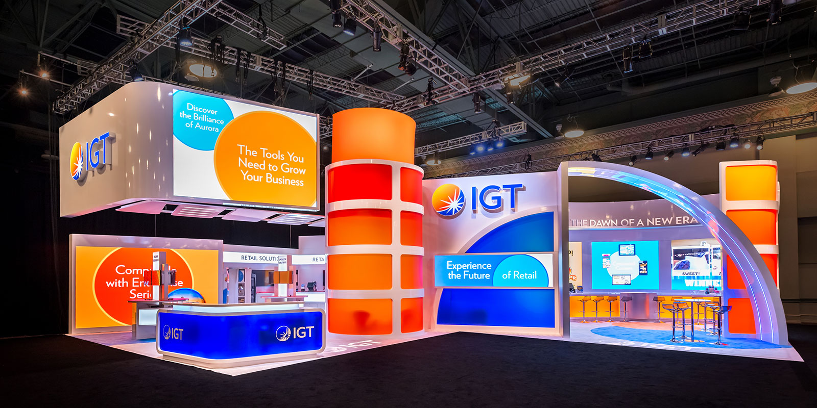 Hill & Partners Custom Branded Environment for IGT